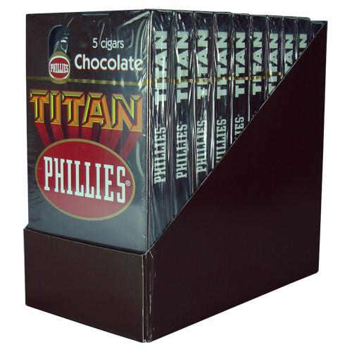 PHILLIES TITAN CHOCOLATE 10X5 MAÇO
